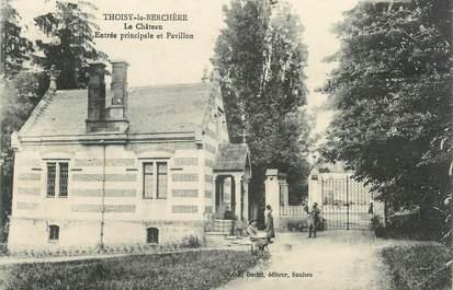 """CPA FRANCE 71 """" Thoisy la Berchère, Le château""""."""