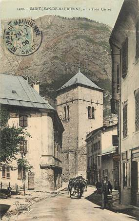 """CPA FRANCE 73 """"Saint Jean de Maurienne, la Tour Carrée"""""""
