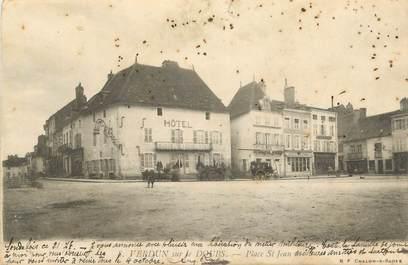 """CPA FRANCE 71 """" Verdun sur le Doubs, Place St Jean """"."""