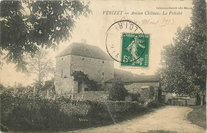 """CPA FRANCE 71 """" Vérizet, Ancien château """"."""