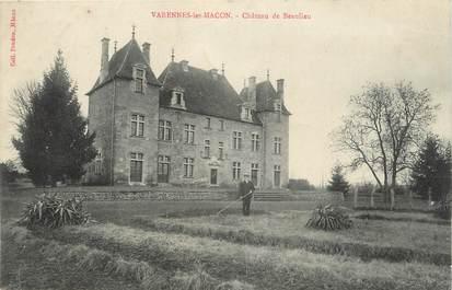 """CPA FRANCE 71 """" Varennes les Macon, Château de Beaulieu""""."""