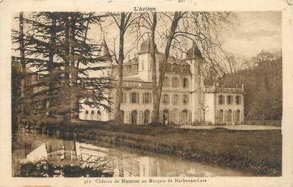 "CPA FRANCE 09 ""La Bastide de Sérou, Le château de Nescus""."
