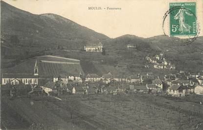 """CPA FRANCE 09 """"Moulis, Panorama""""."""