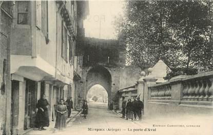 """CPA FRANCE 09 """" Mirepoix, La Porte d'Aval""""."""