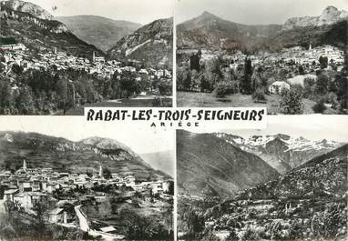 """CPSM FRANCE 09 """" Rabat les Trois Seigneurs, Vues""""."""