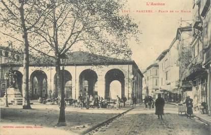 """CPA FRANCE 09 """" Pamiers, Place de la halle""""."""