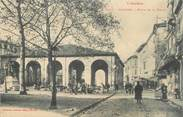 """09 Ariege CPA FRANCE 09 """" Pamiers, Place de la halle""""."""
