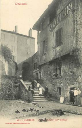 """CPA FRANCE 09 """" Pamiers, Vieille maison""""."""