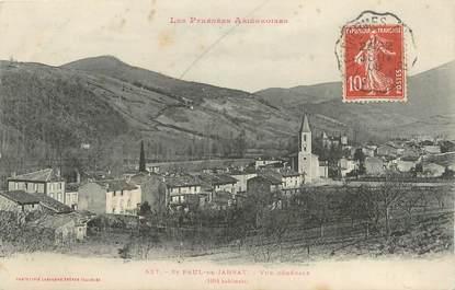 """CPA FRANCE 09 """" St Paul de Jarrat, Vue générale""""."""