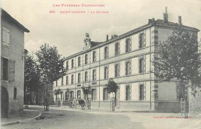 """CPA FRANCE 09 """" St Girons, Le collège""""."""