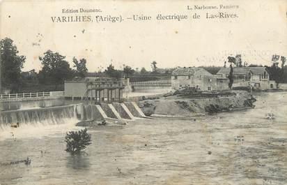 """CPA FRANCE 09 """" Varilhès, Usine électrique de Las Rives""""."""