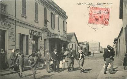 """CPA TUNISIE """"Ferryville, le quartier arabe"""""""