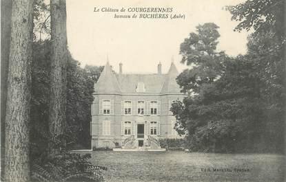 "CPA FRANCE 10 "" Courgerennes, Le château""."