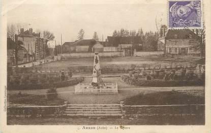 """CPA FRANCE 10 """" Auxon, Le square""""."""
