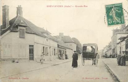 "CPA FRANCE 10 "" Bréviandes, Grande rue""."
