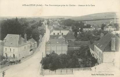 """CPA FRANCE 10 """"Aix en Othe, Vue panoramique prise du clocher""""."""
