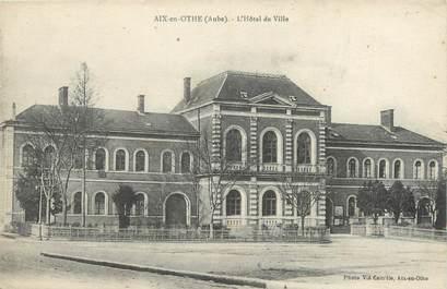 """CPA FRANCE 10 """"Aix en Othe, L'Hôtel de Ville""""."""