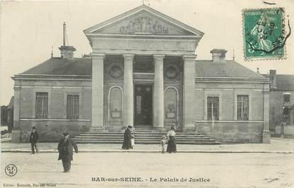 """CPA FRANCE 10 """" Bar sur Seine, Le Palais de Justice""""."""