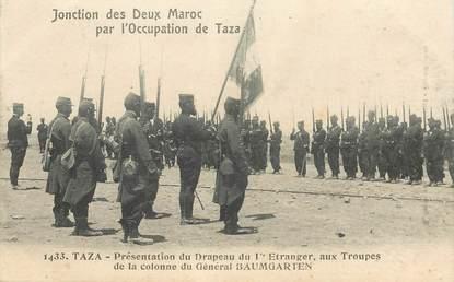 """CPA MAROC """"Taza, Occupation de Taza"""""""