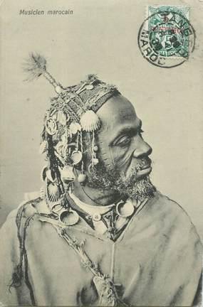 "CPA MAROC ""Musicien marocain"""
