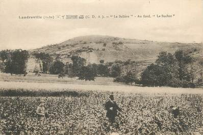 """CPA FRANCE 10 """" Landreville, La salière, le Suchot""""."""