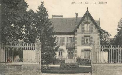 """CPA FRANCE 10 """" Longueville, Le château""""."""
