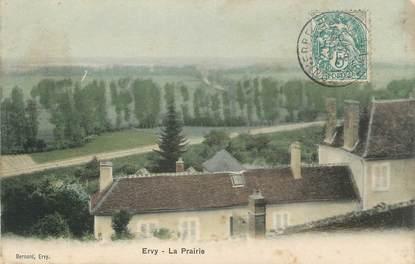 "CPA FRANCE 10 "" Ervy, La prairie""."