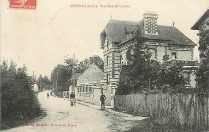 "CPA FRANCE 10 "" Estissac, Rue Costel Laurent""."