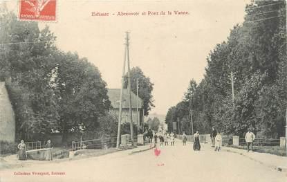 """CPA FRANCE 10 """" Estissac, Abreuvoir et Pont de la Vanne""""."""