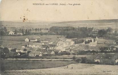 """CPA FRANCE 10 """" Neuville sur Vanne, Vue générale""""."""