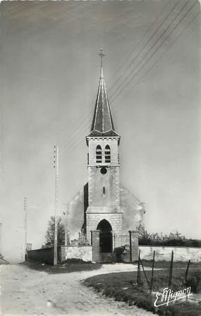 """CPSM FRANCE 10 """" Ossey les Trois Maisons, L'église""""."""