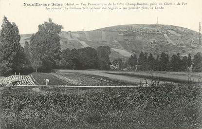 """CPA FRANCE 10 """" Neuville sur Seine, Vue panoramique""""."""
