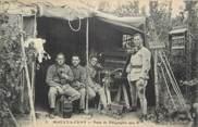 """10 Aube CPA FRANCE 10 """" Mailly le Camp, Poste de télégraphie sans fil"""". / TSF"""