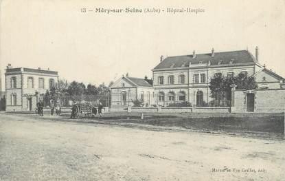 "CPA FRANCE 10 "" Méry sur Seine, L'Hôpital - Hospice""."