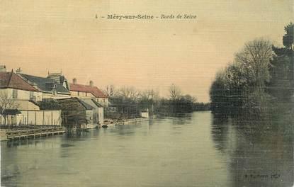 """CPA FRANCE 10 """" Méry sur Seine, Bords de la Seine""""."""