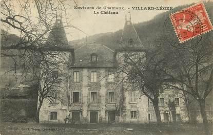 """CPA FRANCE 73 """"Env. de Chamoux, Villard Léger, le Château"""""""