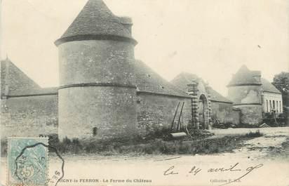 """CPA FRANCE 10 """" Rigny le Ferron, La ferme du château""""."""