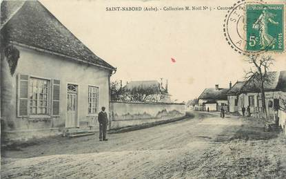 """CPA FRANCE 10 """" St Nabord""""."""