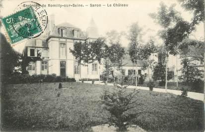 """CPA FRANCE 10 """" Saron, Le château""""."""