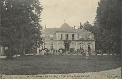 """CPA FRANCE 10 """"St Julien, Château""""."""