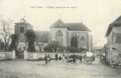 "CPA FRANCE 10 ""Thil, L'église""."