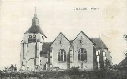 """CPA FRANCE 10 """"Voué, L'église""""."""