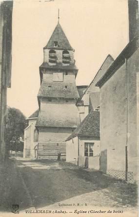 """CPA FRANCE 10 """" Villemaur, L'église""""."""