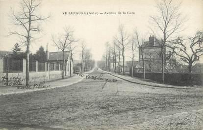 "CPA FRANCE 10 "" Villenauxe, Avenue de la gare""."