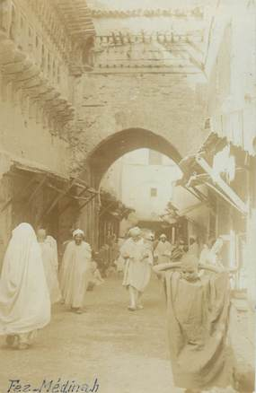 "CARTE PHOTO MAROC ""Fez Médinah"""
