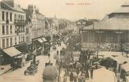 """10 Aube CPA FRANCE 10 """" Troyes, La rue Thiers""""."""