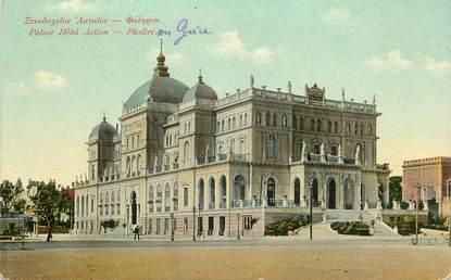 "CPA GRECE ""Phalère, Place Hotel Actéon"""