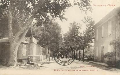 """CPA FRANCE 11 """" Alet, Avenue de la Source Buvette""""."""