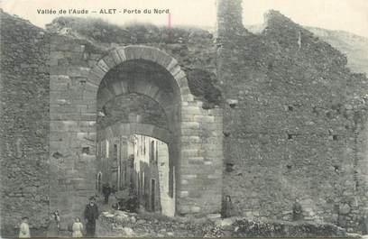 """CPA FRANCE 11 """" Alet, Porte du Nord""""."""