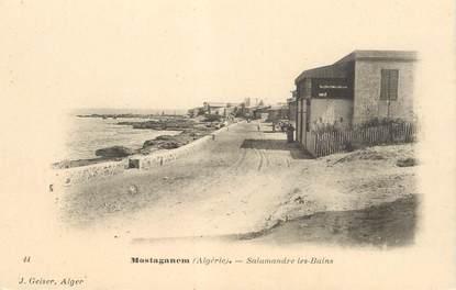 """CPA ALGERIE """"Mostaganem, Salamandre les Bains"""""""